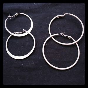 Double Hoops Earring Collection